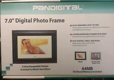 "7.0"" Digital Photo Frame #DPF70-2 by Pandigital new in Original Box"