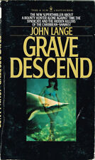 John Lange, Michael Crichton / Grave Descend Bantam Book T8324 1st Edition 1975