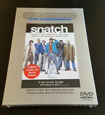 Snatch (DVD, Deluxe Superbit 2-Disc Set, 2002) Guy Ritchie film Brad Pitt NEW
