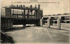 CPA La Saulce - Bassin de Decantation du Canal de l'Usine electrique de (473027)