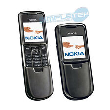 NOKIA 8800 Black ORIGINAL WITH CODE IMEI Made in Finland Accessories , new