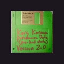 Korg KARMA Factory PRELOAD Data V 2.0 FLOPPY disc Performance Data floppy disk