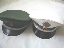 Polizei Schirmmütze, original, wahlweise in grün oder weiß