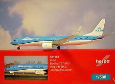 Herpa Wings 1:500  Boeing 737-900  KLM  PH-BXS  531962  Modellairport500