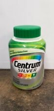 Centrum Silver Multivitamin Supplement Adult 50+ 220 Tablets NEW Exp 04/2021