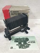CANON FD Auto Bellows for Macro Photography EXCELLENT