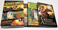 Jungle Girls (OOP Ultra RARE Triple Feature, 2006 DVD Set, 3-Disc)