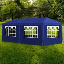 4/6/9 x 3 x 2.5 m  Party Tent Marquee Garden Gazebo Shelter Canopy Blue/White UK