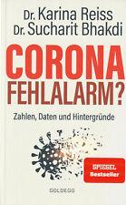 CORONA FEHLALARM ? - Dr. Karina Reiss & Dr. Sucharit Bhakdi BUCH - NEU