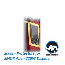 Tuff Protect Clear Screen Protectors For SMOK Alien 220W Touchscreen, 3pcs