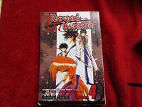 Ruroni Kenshin vol #4  Manga comic books anime manhwa manhua
