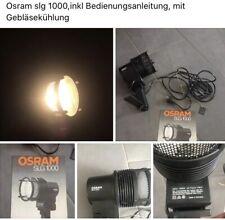 Film- Studioleuchte OSRAM SLG1000 Studio,mit Gebläse,gebraucht
