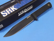"""COLD STEEL 49LCK SRK Survival Rescue SK5 carbon fixed knife 11 3/4"""" overall NEW!"""