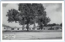 NILES, Missouri  MO   Roadside  DIXIE VILLA MOTEL  dated 1954  Postcard