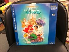 DISNEY'S THE LITTLE MERMAID LASER DISC Deluxe Edition
