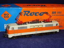 Roco 04133B DB BR111 Elok/electric loco S-Bahn orange/grey 111 161-6 VGC boxed