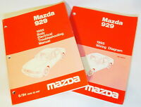 1995 MAZDA 929 Electrical Troubleshooting & Wiring Diagram OEM Service Manuals