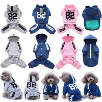 Pet Dog Puppy Hoodie Clothes Costume Jumpsuit Coat Jacket Sweater Apparel BEST