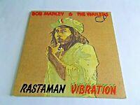 Bob Marley & The Wailers Rastaman Vibration LP 1976 Island Vinyl Record