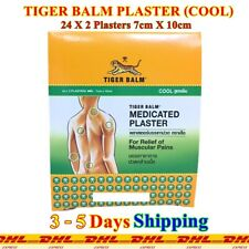 Tiger Balm Plaster Cool Small Pad 24 Packs Relieve Stiff Muscle Aches Pains