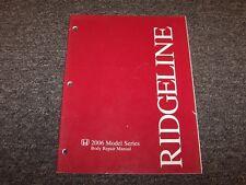2006 Honda Ridgeline Truck Shop Service Body Repair Manual RT RTS RTL 3.5L V6