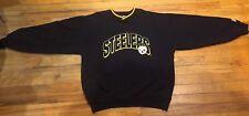VTG Starter NFL Pittsburgh Steelers Pullover Crewneck Sweatshirt Mens Size Large