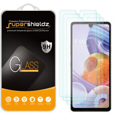 [3-Pack] Supershieldz Tempered Glass Screen Protector for LG Stylo 6