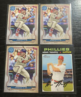 Adam Haseley Lot(4) 2020 Topps Philadelphia Phillies
