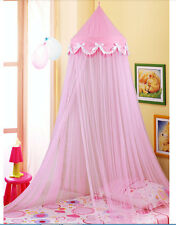 Princess Dome Bow Mosquito Net Canopy Decorative Insect Twin Full Queen Size