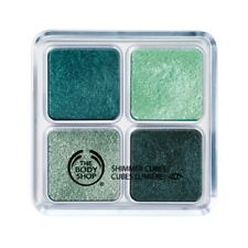 The Body Shop Shimmer Cubes Eye Shadow Quad #22 Green