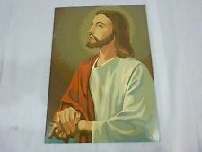 Vtg Paint By Number Painting PBN Religious Subjects Craft Master 1963 Jesus #2