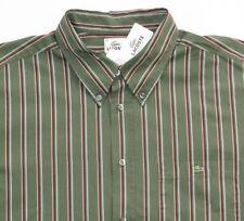 1dda9fe7ea S Regular Size Striped Casual Shirts for Men   eBay