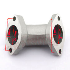 Carb Intake Manifold Pipe 27mm Angled 0° For 125cc 140cc 150 160cc Dirt Pit Bike