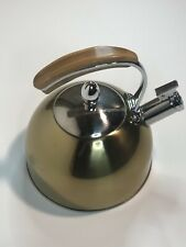 Pinky Up 9410 Presley Tea Kettle in Gold
