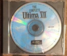THE COMPLETE ULTIMA VII CD-ROM CLASSICS GOLD EDITION (PC, 1996) EXCELLENT SHAPE