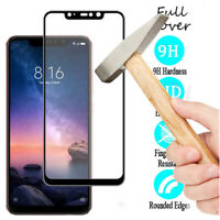 2Pc For Xiaomi Redmi Note 6 Pro 5D 9H Full Cover Tempered Glass Screen Protector