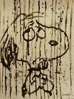 """Tom Everhart """"DANCING IN THE RAIN"""" SNOOPY S/N """"PEANUTS"""" Lithograph+COA Last One!"""