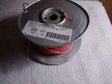 Partial Roll of Belden 88761 Audio Cable 2 Conductor 22 AWG FEP RED Wire