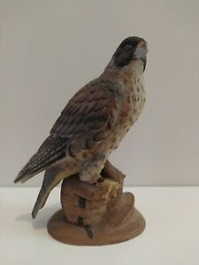 Peregrine Falcon Figure Marks and Rosenfeld Bird Display Ceramic ? Porcelain ?