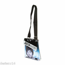 Austin Mahone Passport Girl's Crossbody Black Patent Bag Purse AM Mahomie New