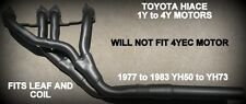 TOYOTA HIACE 3Y-4Y  1.8lt & 2lt 1977 TO 1983 YH50 TO YH73 HEADERS / EXTRACTORS