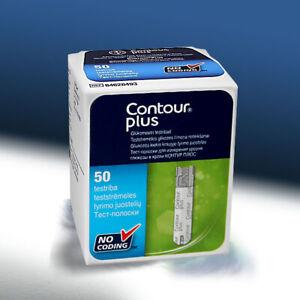 ASCENSIA(Bayer)Contour Plus TestStrips100/150/200/300/400pcs  mmol/l Exp 2022-04