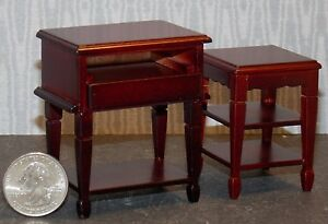 Dollhouse Miniature Computer Stand Desk 1:12 inch scale F22 Dollys Gallery