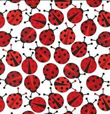 Robert Kaufman, URBAN Zoology, Coccinelle/Lady bug tissu par le FQ +
