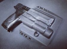 """S&W M&P 9 / 40 full size with streamlight tlr-1 4.25"""" OWB Holster Kydex tlr1 hl"""