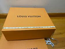 Authentic Louis Vuitton Magnetic Closure Gift Box 18x14.5x6.5 Large Size