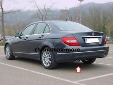 deflector Mercedes Benz Clase-C 2 piezas acero inoxidable