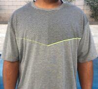 NWT New Mens LT 2XLT 3XL 3XLT 4XL t shirt Foundry Quick Dry Gray grey big tall