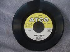 Nino Tempo & April Stevens, Deep Purple, Atco Records 45-6273, 1963, Pop
