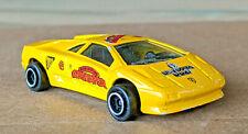 Majorette Lamborghini Diablo Willy Wonka Gobstopper Diecast Model, Number 219